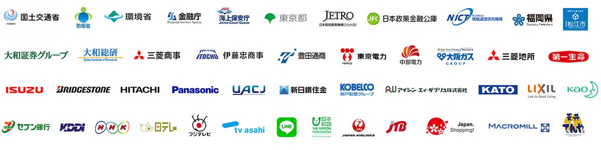 ご利用企業ロゴ|ベトナム語翻訳通訳のゴーウェル